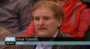Healer Einar Tyholdt på NRK